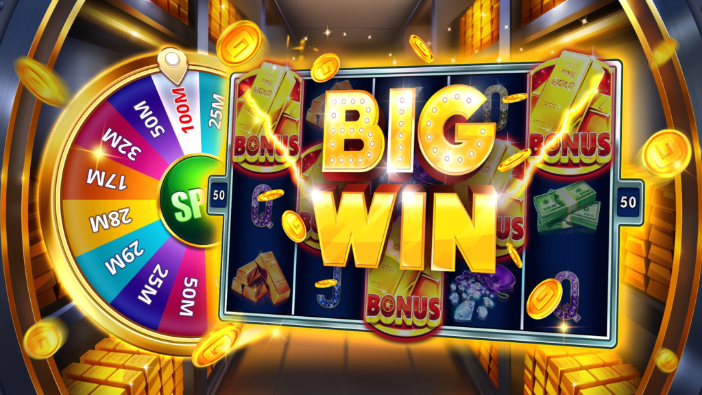 Social casino games slot machines
